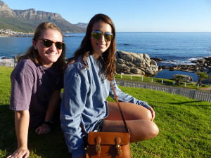 Students exploring Cape Town