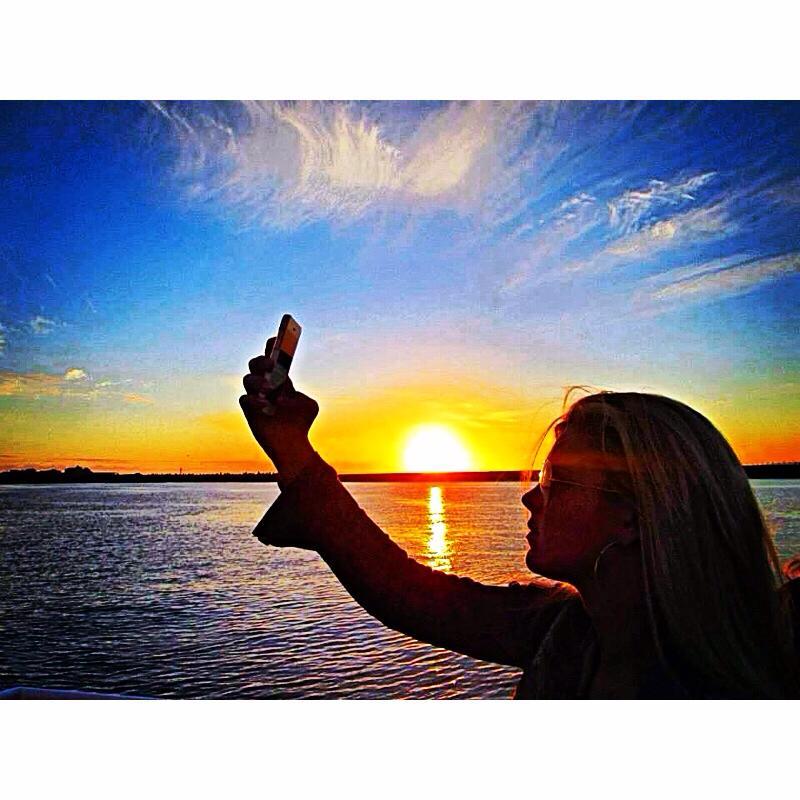 ANNA ON THE SUNSET CRUISE
