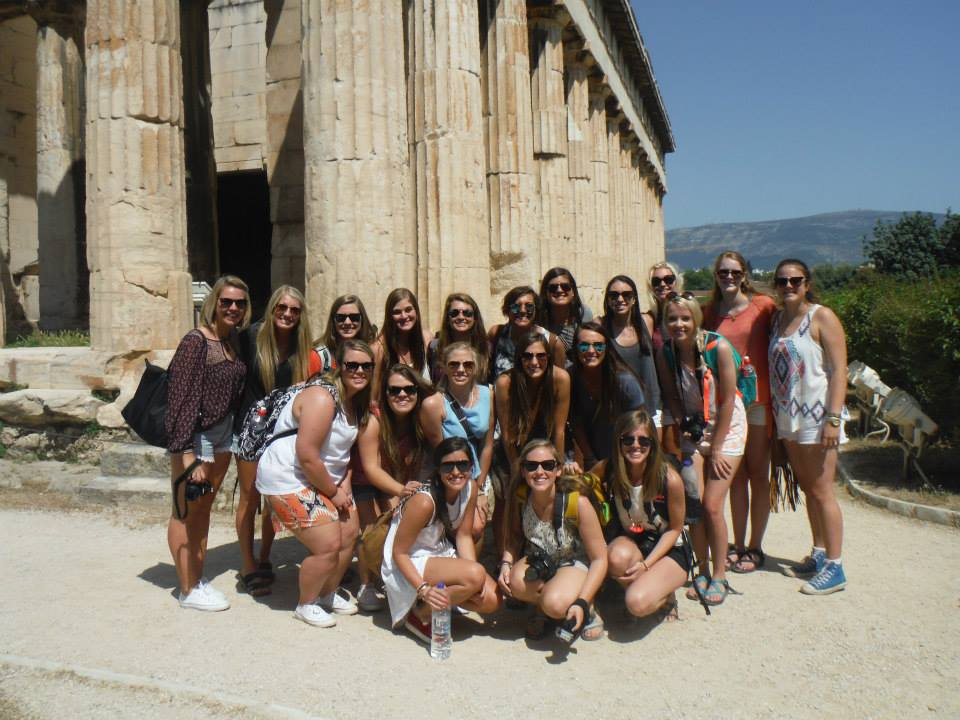 Greece Direct visits Athens ruins