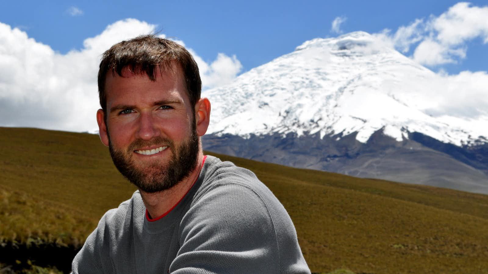 Robbie in Ecuador