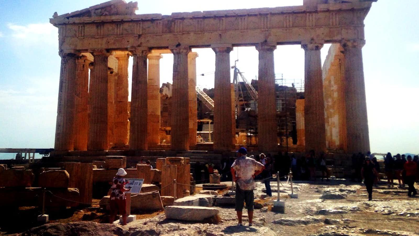 Ancient Greek ruins