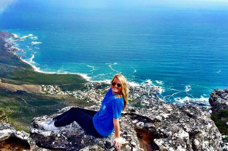 Taylor on Table Mountain