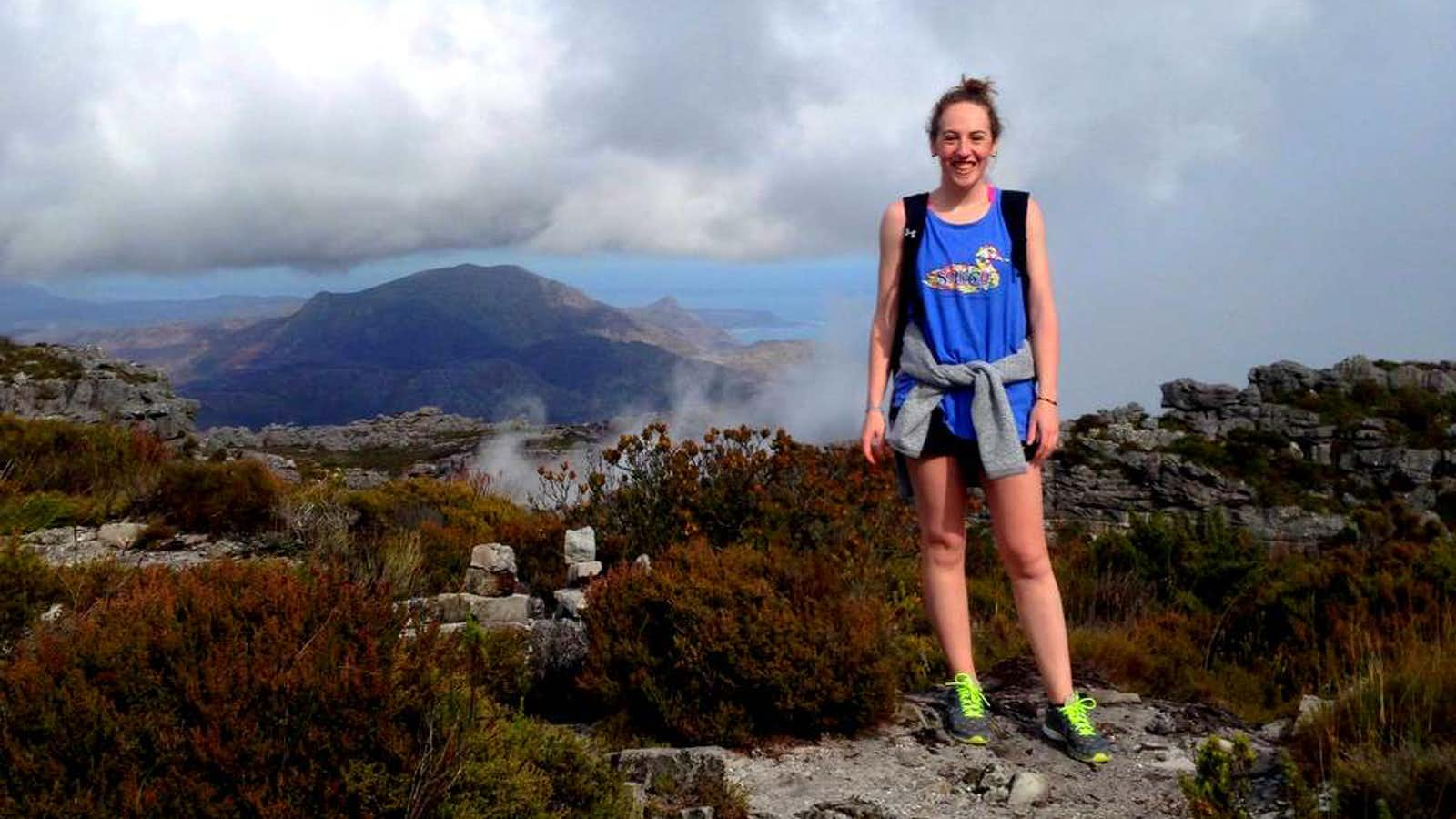 Sam on Table Mountain