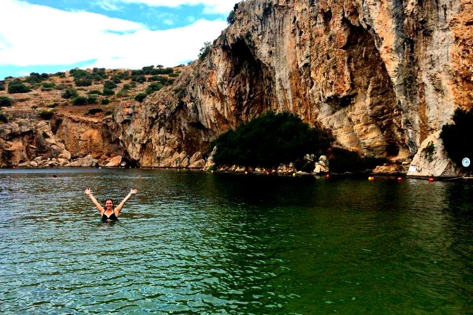Exploring Vouliagmeni Lake