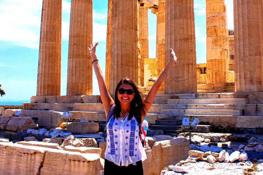 Hayley Howell explores Greek ruins