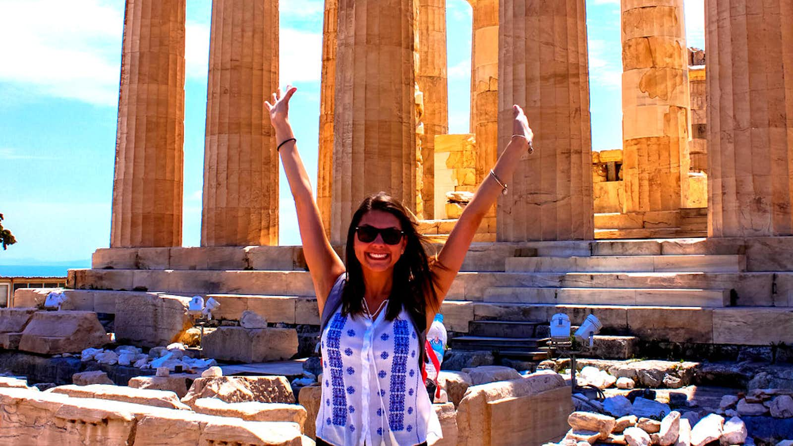 Hayley Howell explores Greek ruins