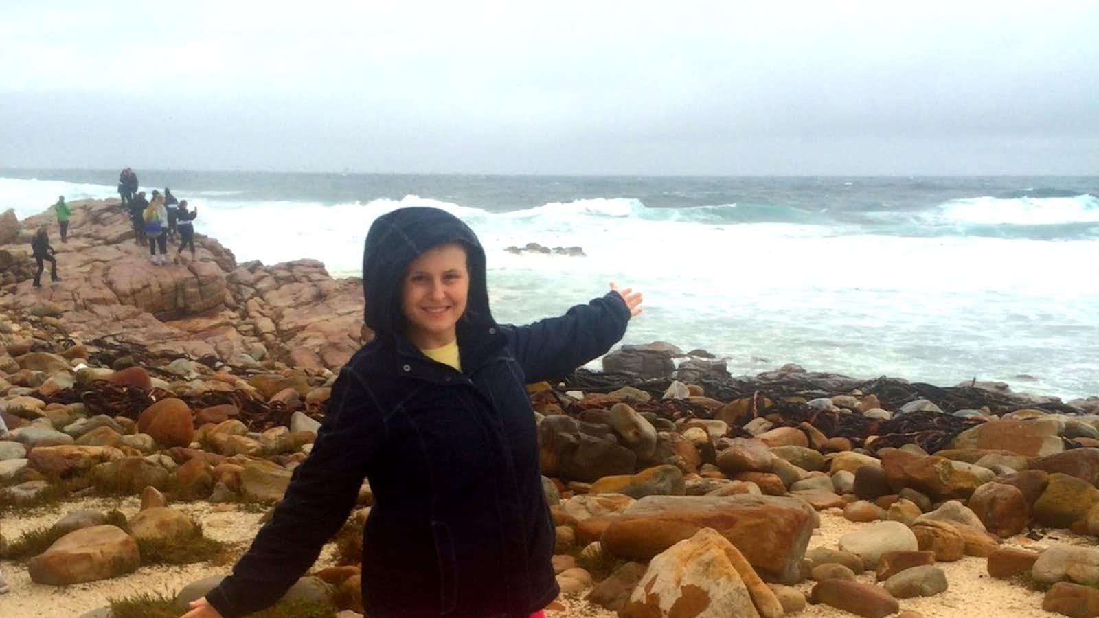 Enjoying the view at Cape Point