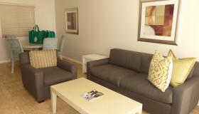 Living Area at Lagoon Beach