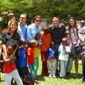 Serving at an orphanage in Kenya