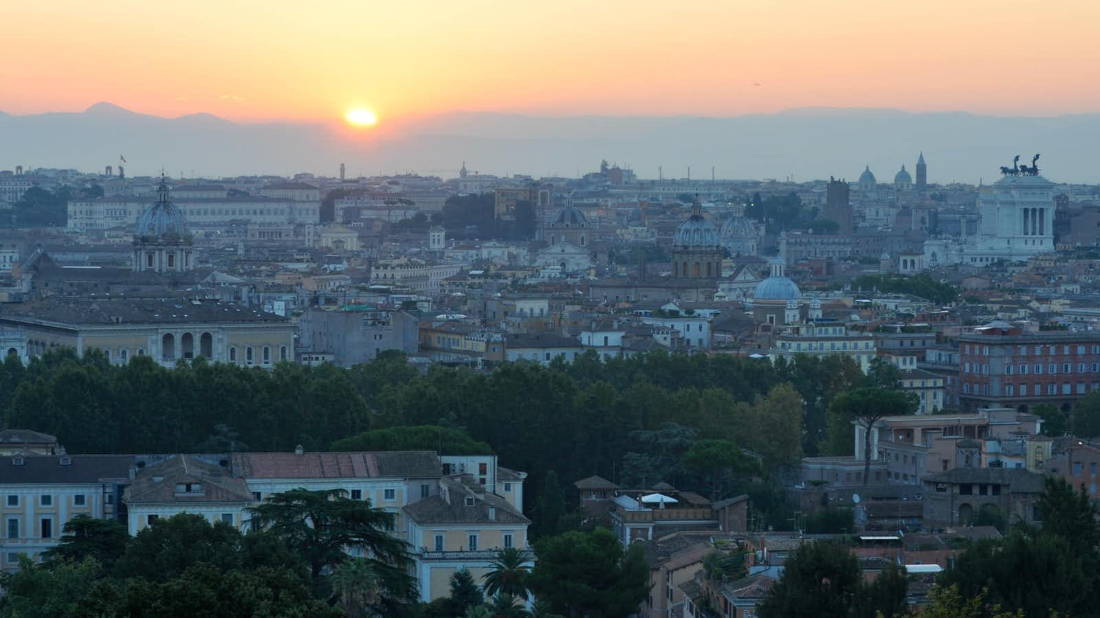 Rome at Sunrise