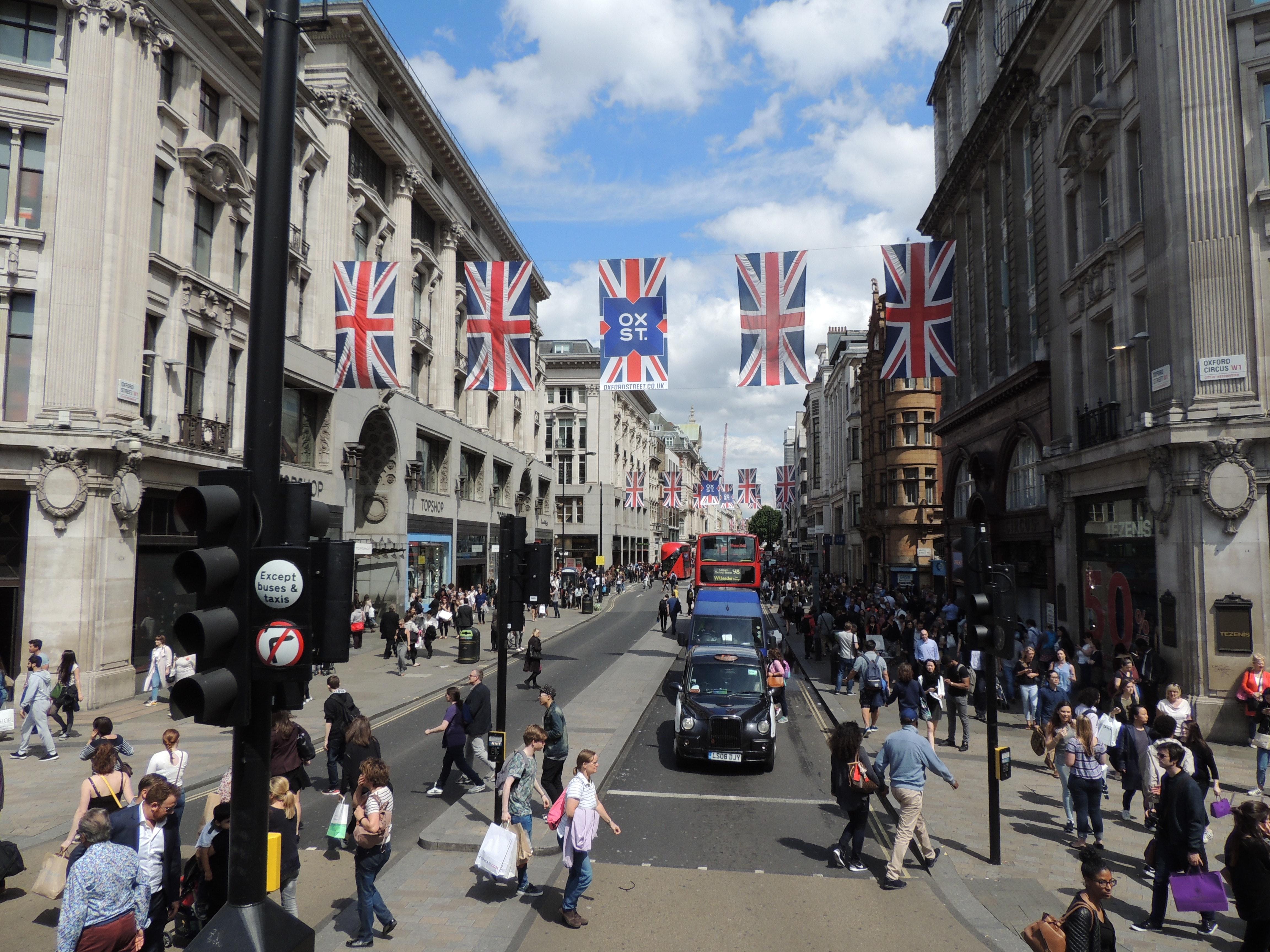 London city streets