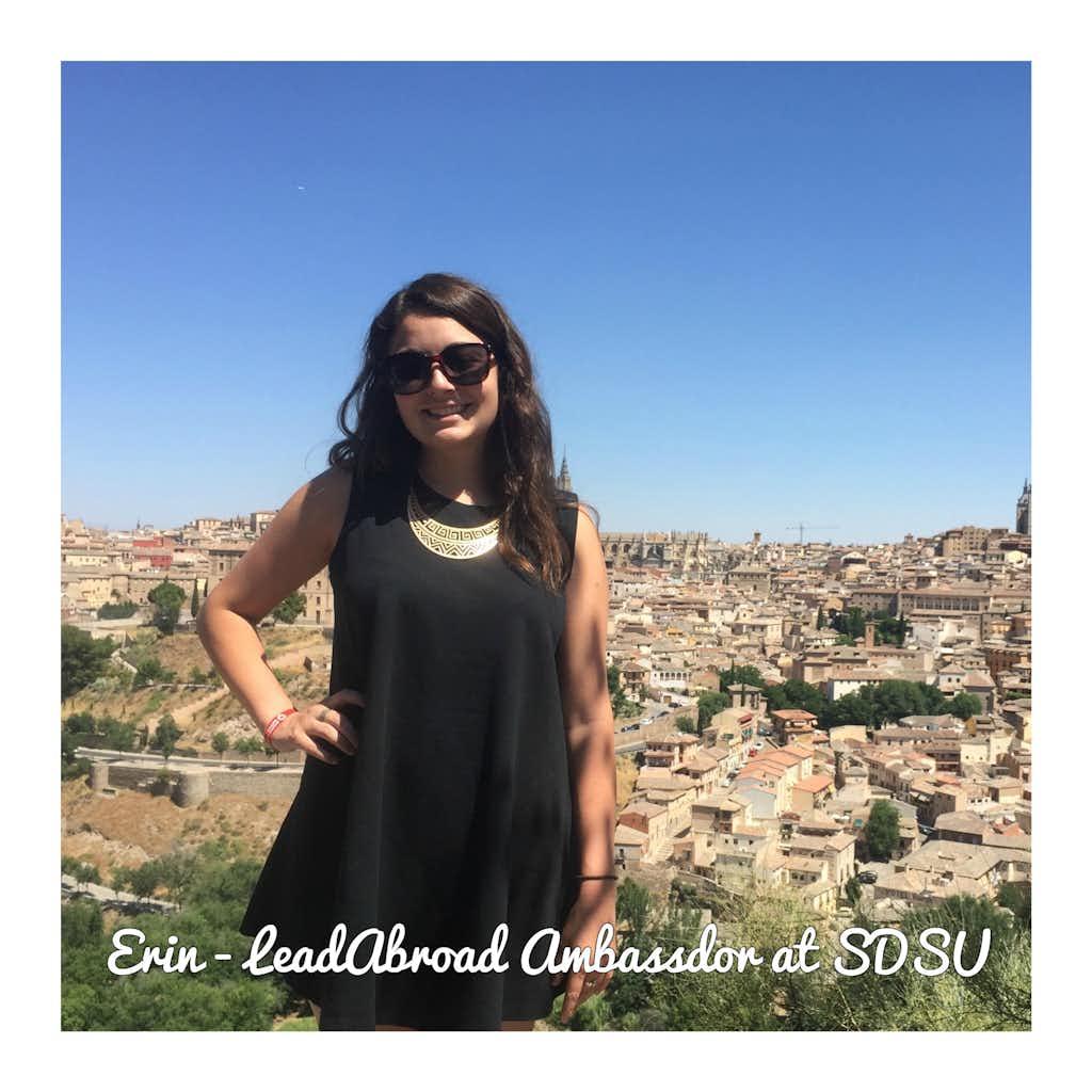 Erin in Spain