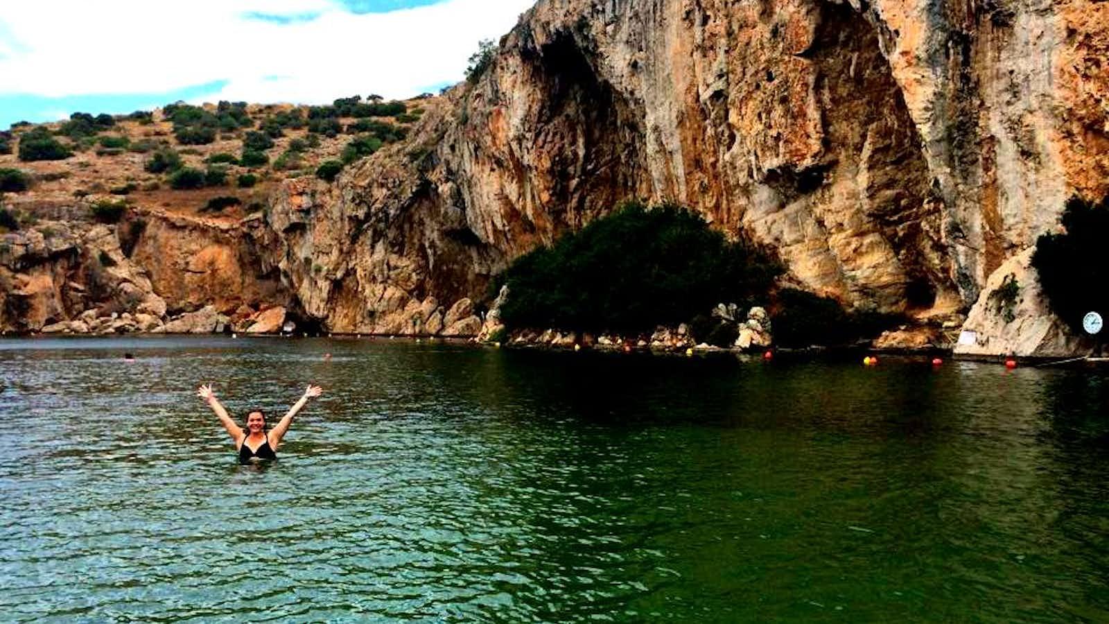Exploring Vouliagmeni Lake