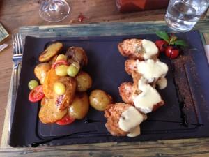CHICKEN DINNER AT LIVING