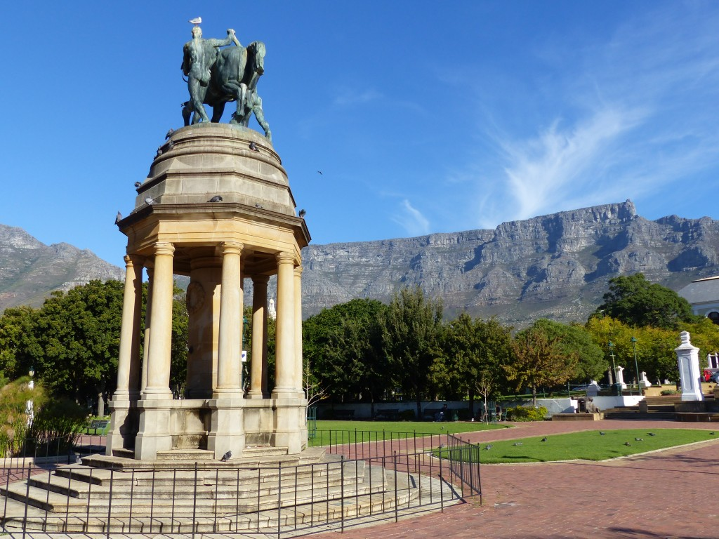 View of Table Mountain while on a city tour