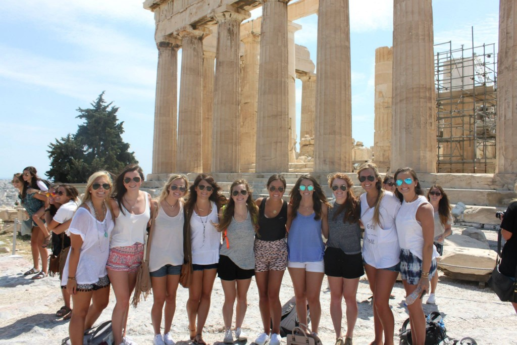 Ancient Athens with new friends