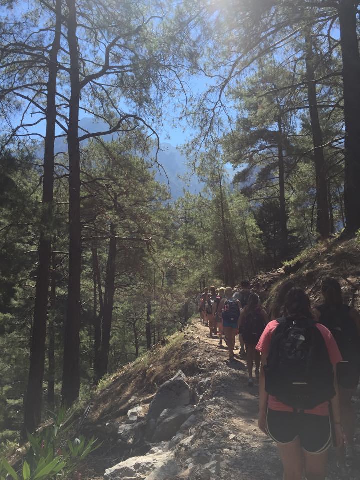 Hiking in Samira Gorge