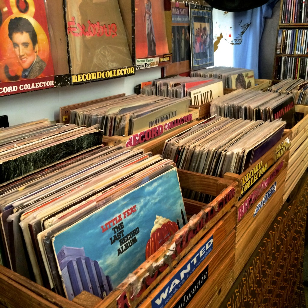 Record store in Cape Town